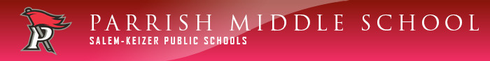 Parrish Middle School Retina Logo